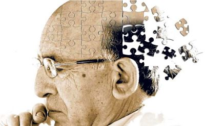 Mental deterioration due to Alzheimer's disease