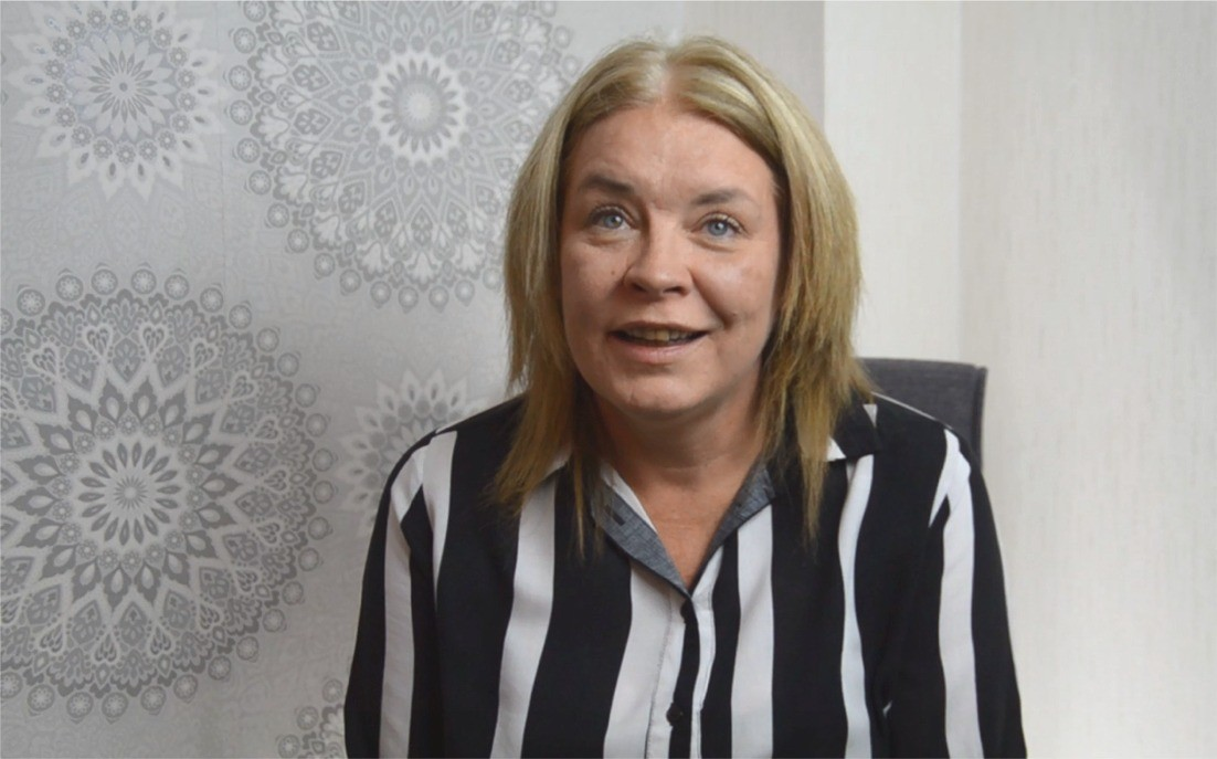 Debbie a psoriasis sufferer who has finally found relief