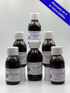 variety pack of C60 oils